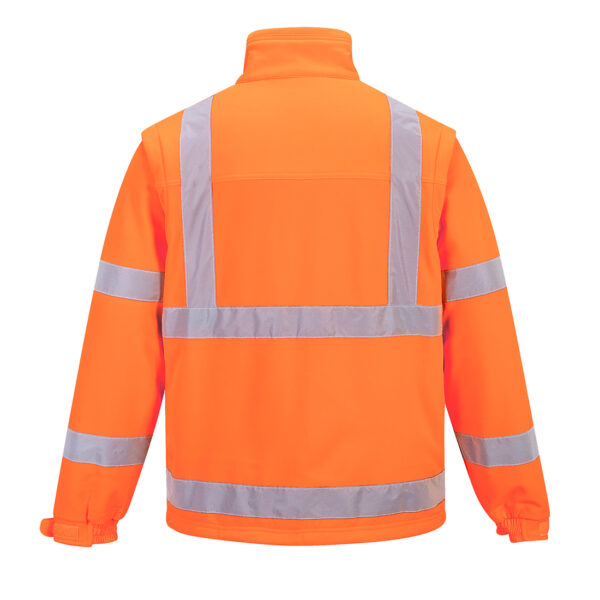 Hi Vis Softshell Orange