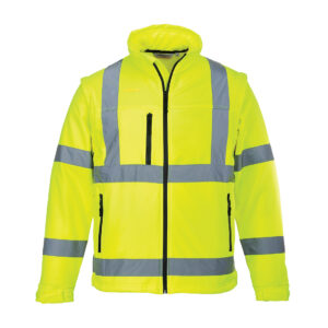 Hi Vis Softshell Yellow