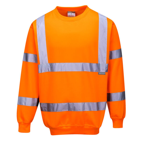 Hi Vis Sweatshirt Orange
