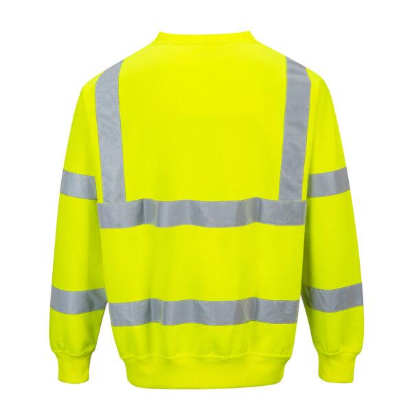 Hi Vis Yellow Sweatshirt
