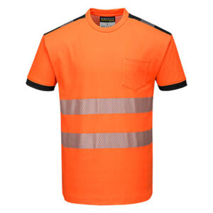 Hi Vis T-Shirt Orange/Black